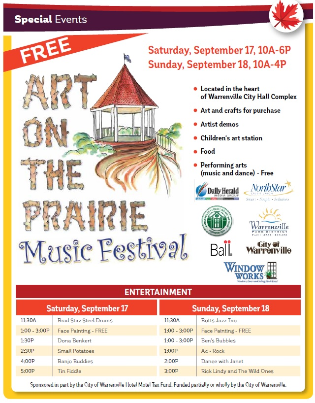 2016 Art on the Prairie Flyer