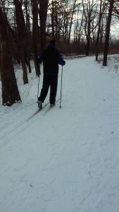Cross Country Skiing at Herrick Lake